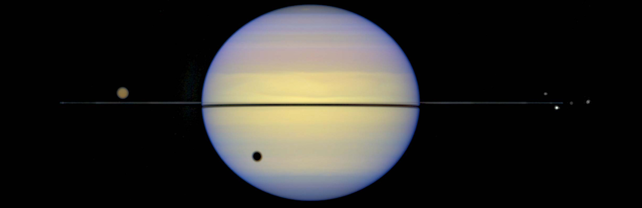 Saturn Almost Naked
