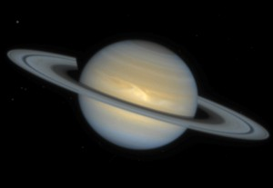 Classic view of Saturn