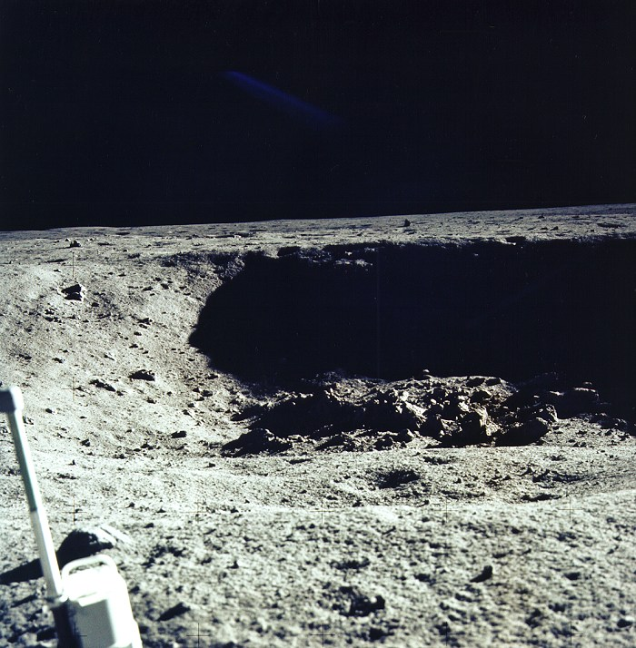 Apollo 11 Little Crater